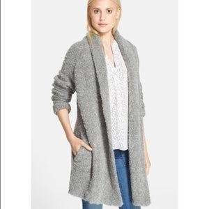 Joie Solome Open Cardigan Sweater Size L